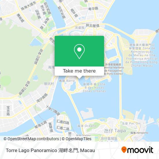 Torre Lago Panoramico 湖畔名門 map
