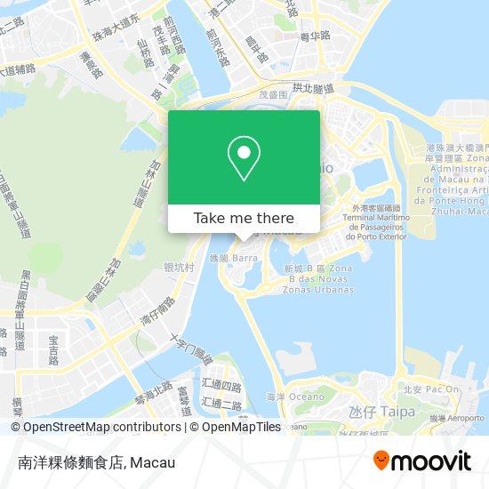 南洋粿條麵食店 map