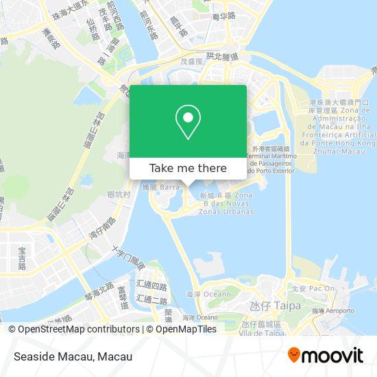Seaside Macau map