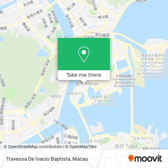 Travessa De Inacio Baptista map