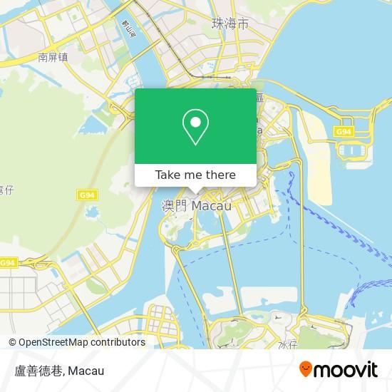 盧善德巷 map