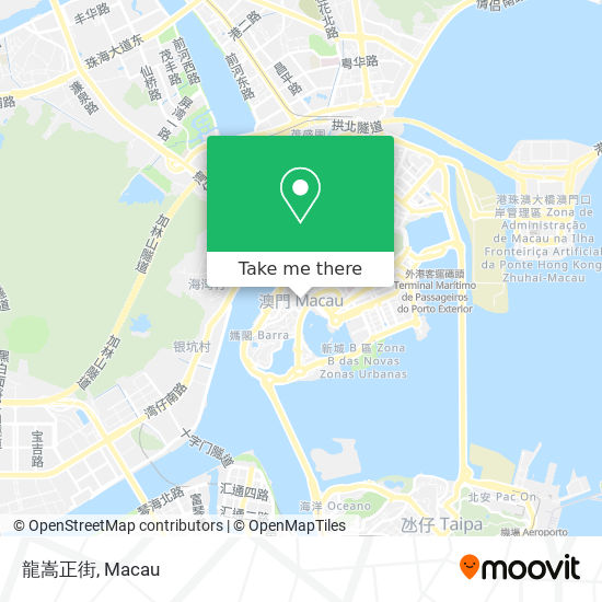 龍嵩正街 map