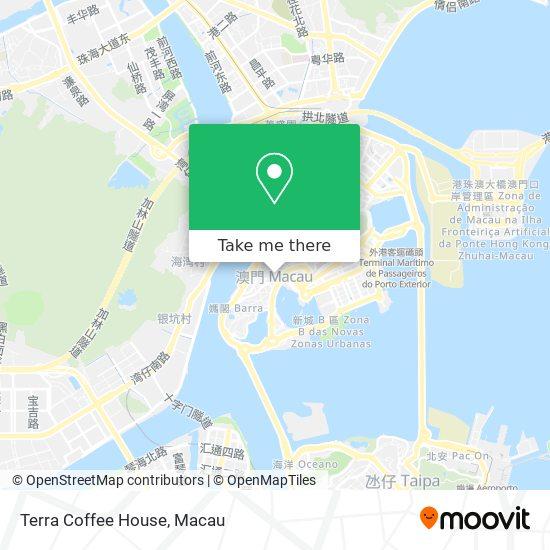 Terra Coffee House map