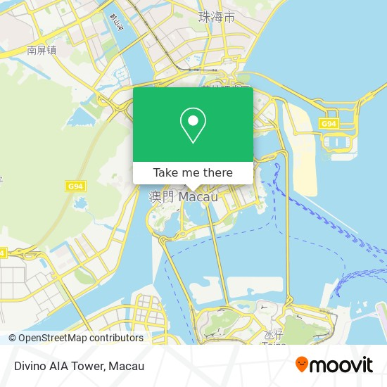 Divino AIA Tower map
