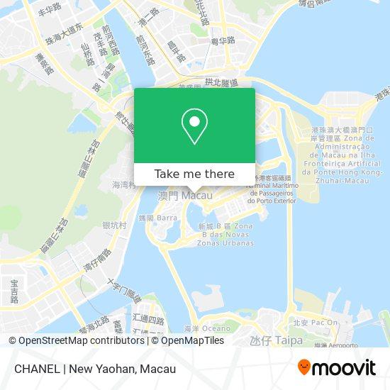 CHANEL | New Yaohan map