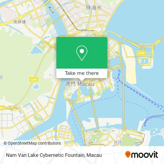 Nam Van Lake Cybernetic Fountain map