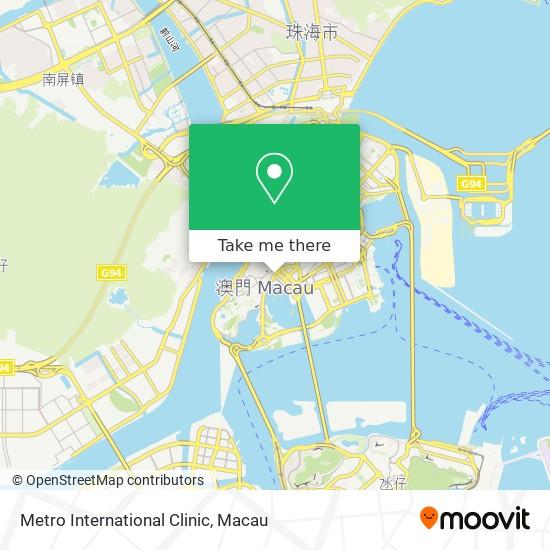 Metro International Clinic map
