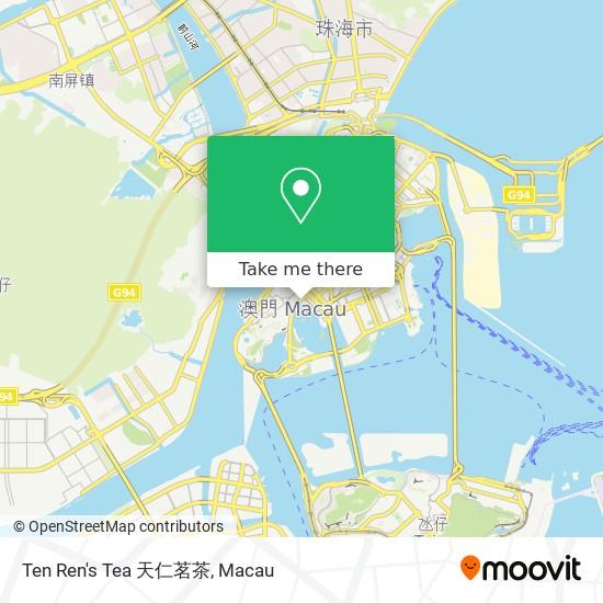 Ten Ren's Tea 天仁茗茶 map
