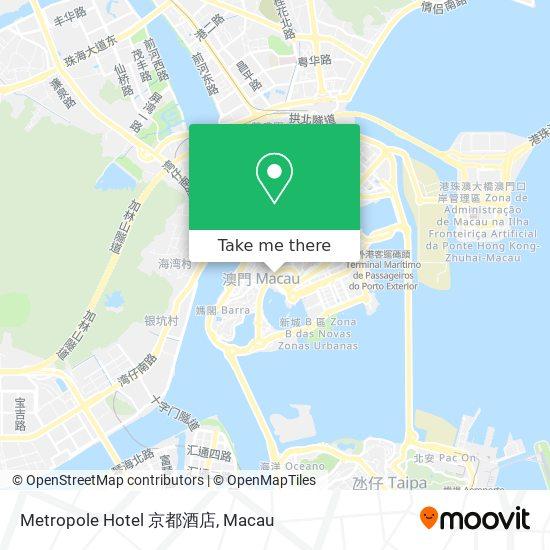 Metropole Hotel 京都酒店 map