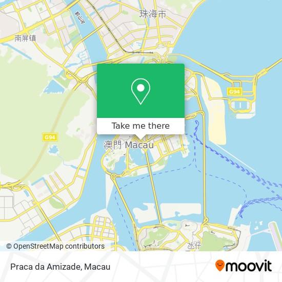 Praca da Amizade map