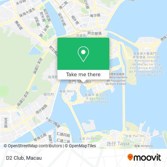 D2 Club map