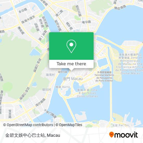 金碧文娛中心巴士站 map
