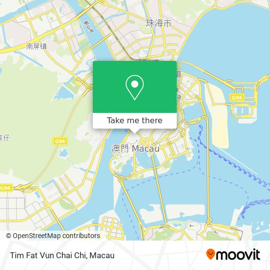 Tim Fat Vun Chai Chi map
