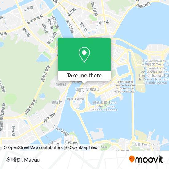 夜呣街 map