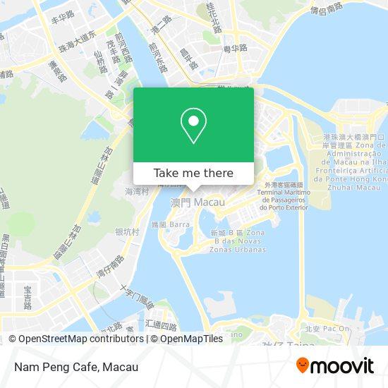 Nam Peng Cafe map