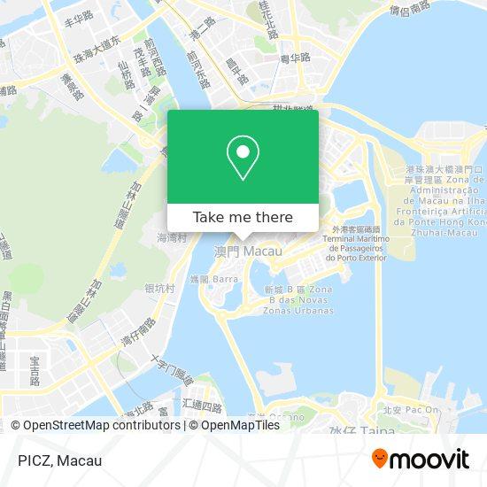 PICZ map
