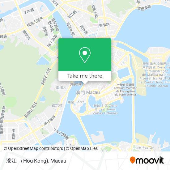 濠江 (Hou Kong) map
