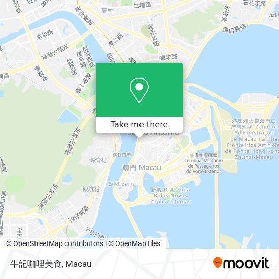 牛記咖哩美食 map