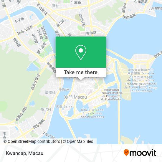 Kwancap map