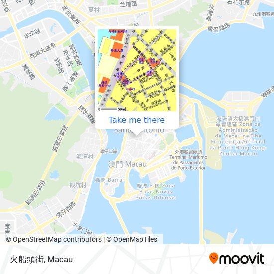 火船頭街 map