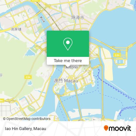 Iao Hin Gallery map