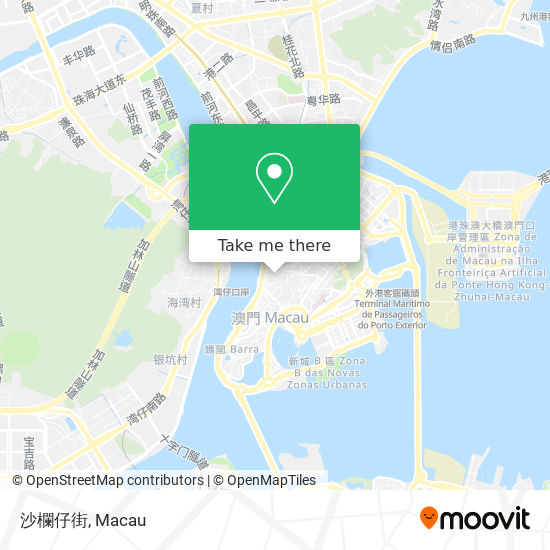 沙欄仔街 map