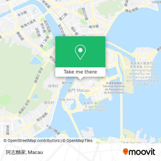 阿志麵家 map