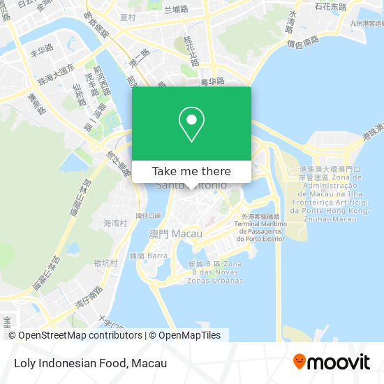 Loly Indonesian Food map