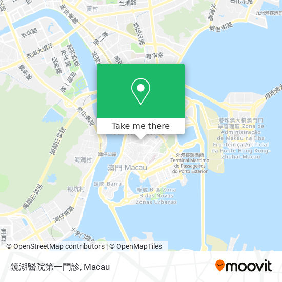 鏡湖醫院第一門診 map