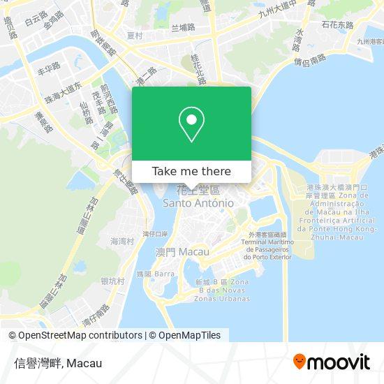 信譽灣畔 map