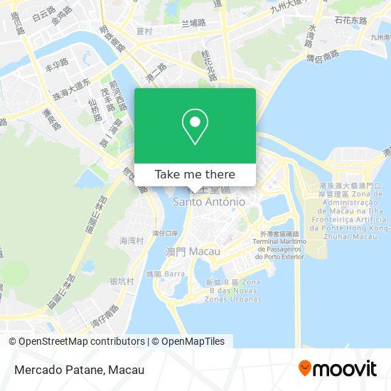Mercado Patane map