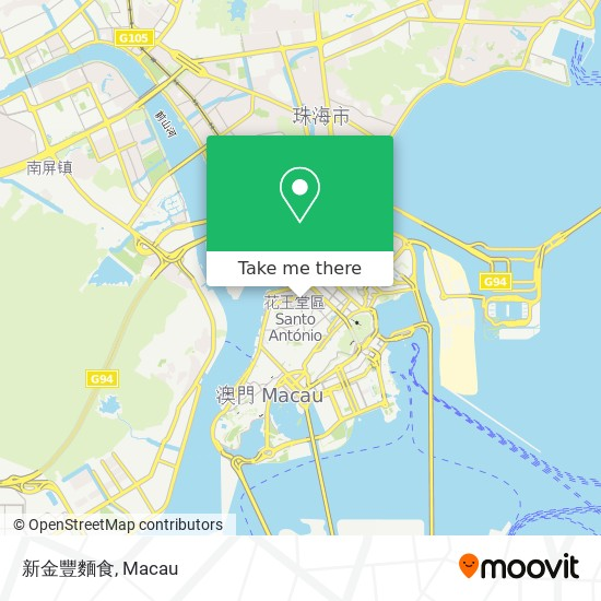 新金豐麵食 map