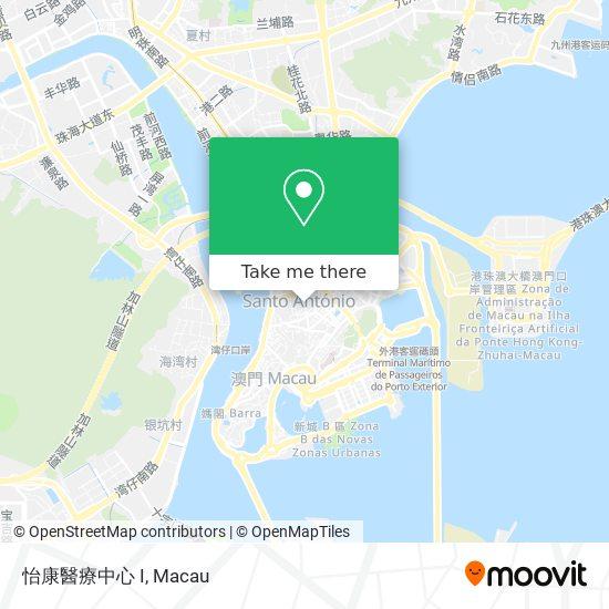 怡康醫療中心 I map