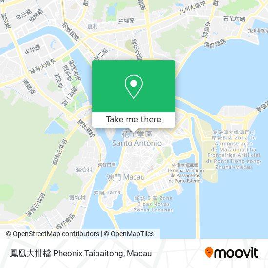 鳳凰大排檔 Pheonix Taipaitong map