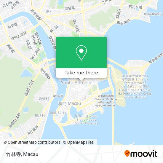竹林寺 map