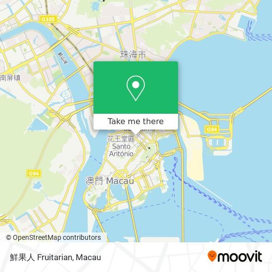 鮮果人 Fruitarian map