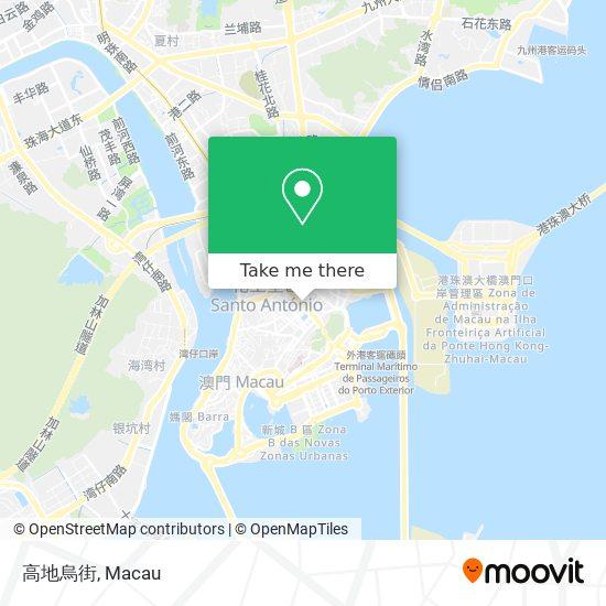 高地烏街 map