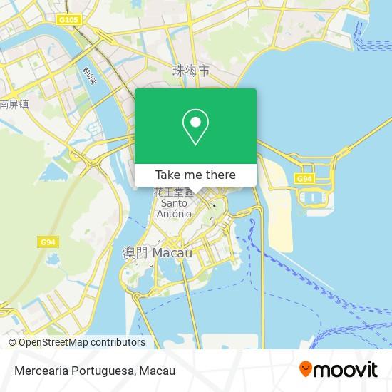 Mercearia Portuguesa map