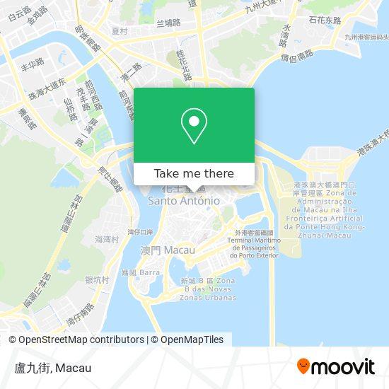 盧九街 map