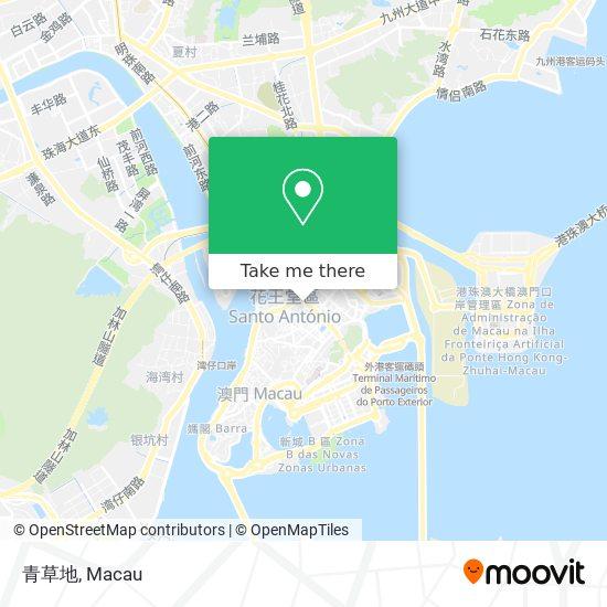 青草地 map