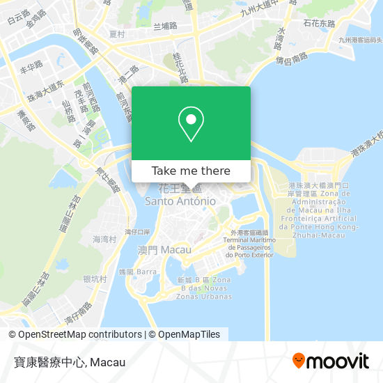 寶康醫療中心 map