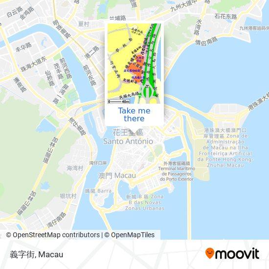 義字街 map