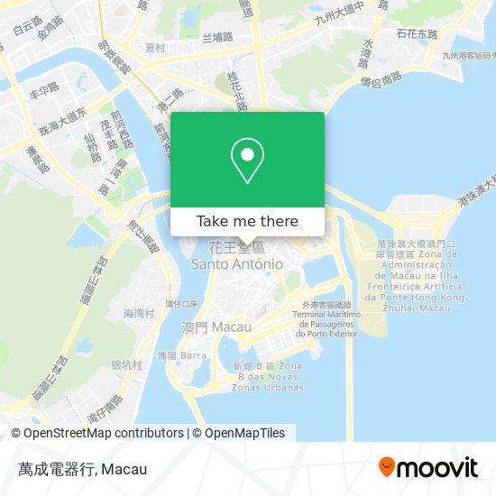 萬成電器行 map