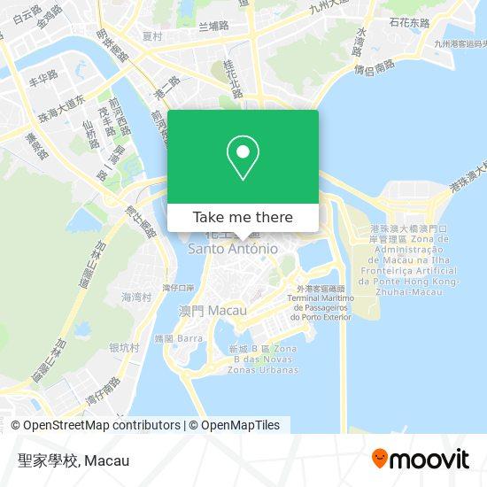 聖家學校 map