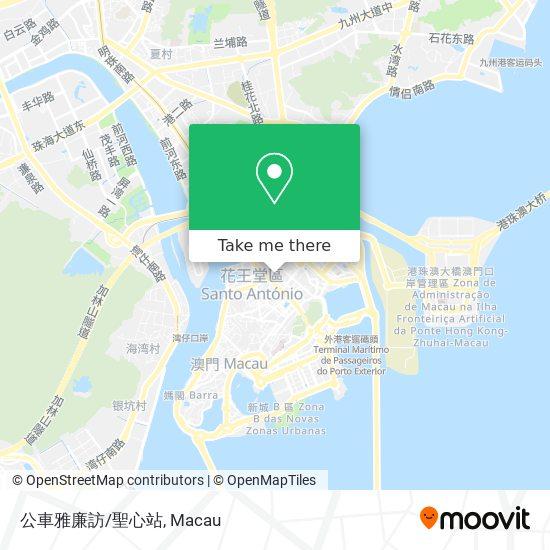 公車雅廉訪/聖心站 map