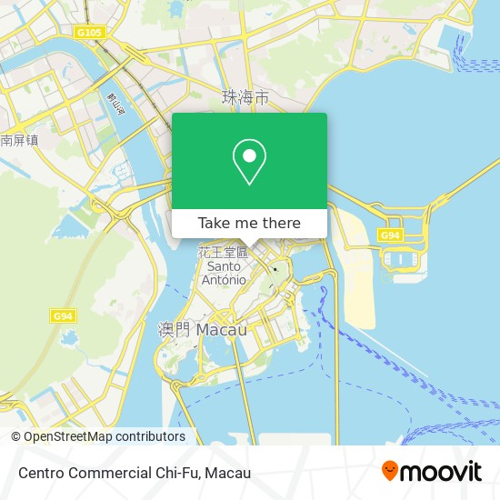 Centro Commercial Chi-Fu map