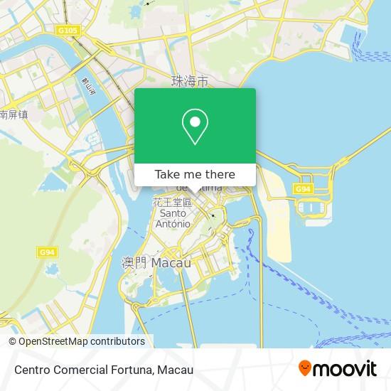 Centro Comercial Fortuna map