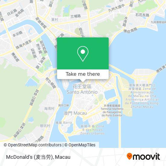 McDonald's (麦当劳) map