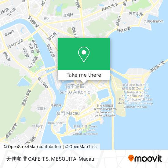 天使咖啡 CAFE T.S. MESQUITA map