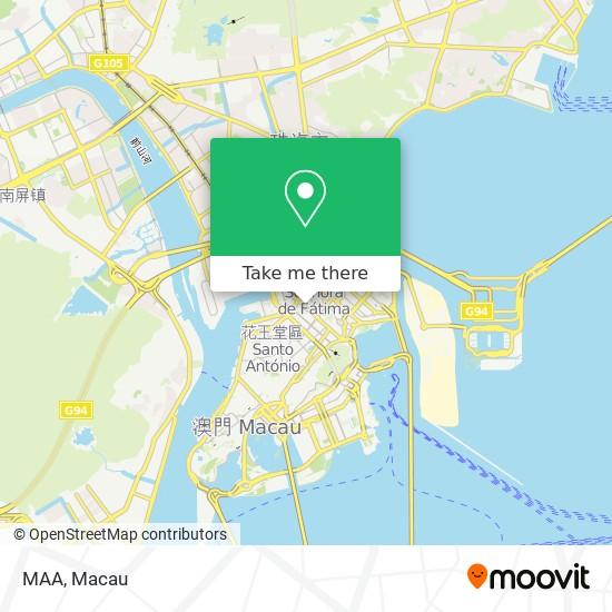 MAA map
